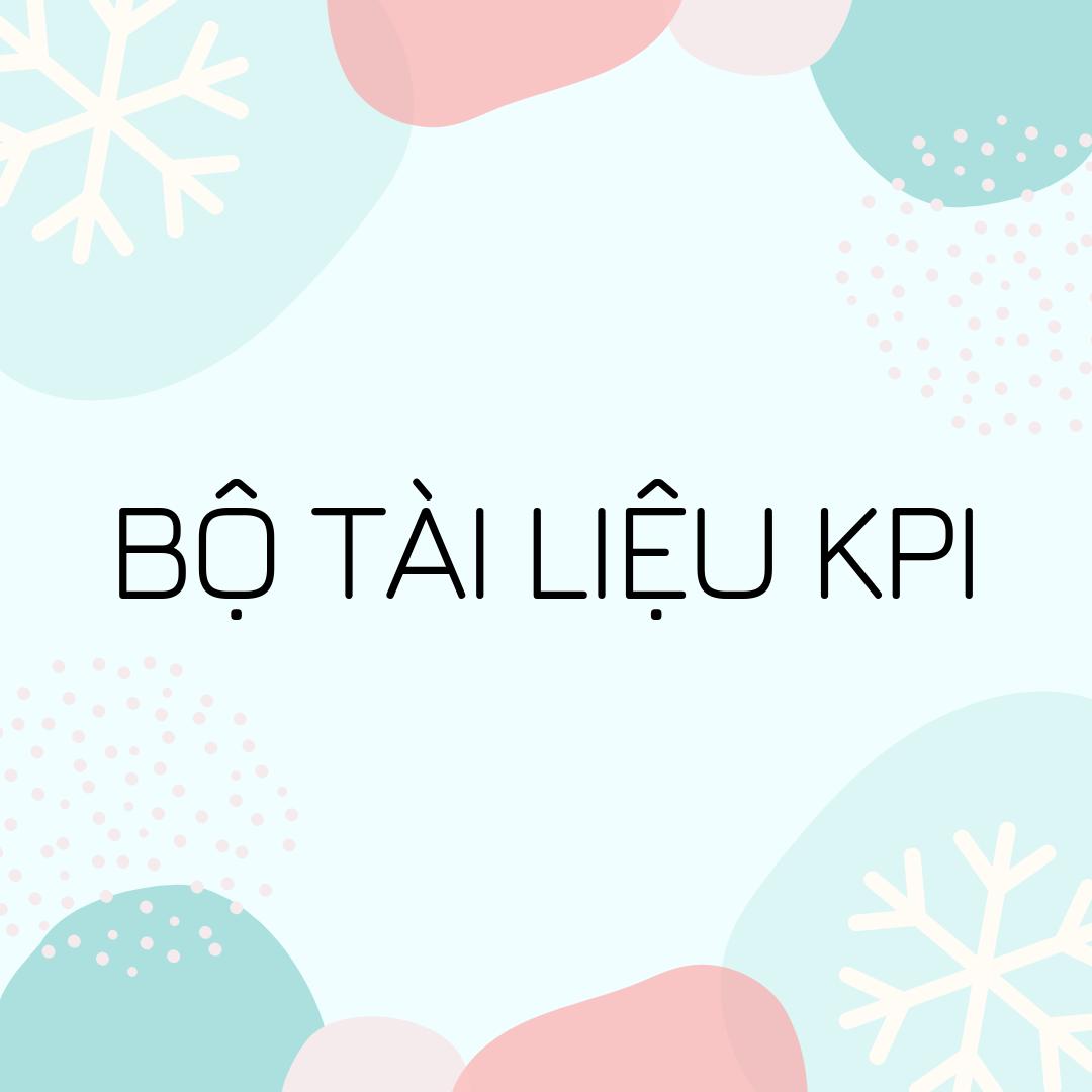 Bộ tài liệu KPI